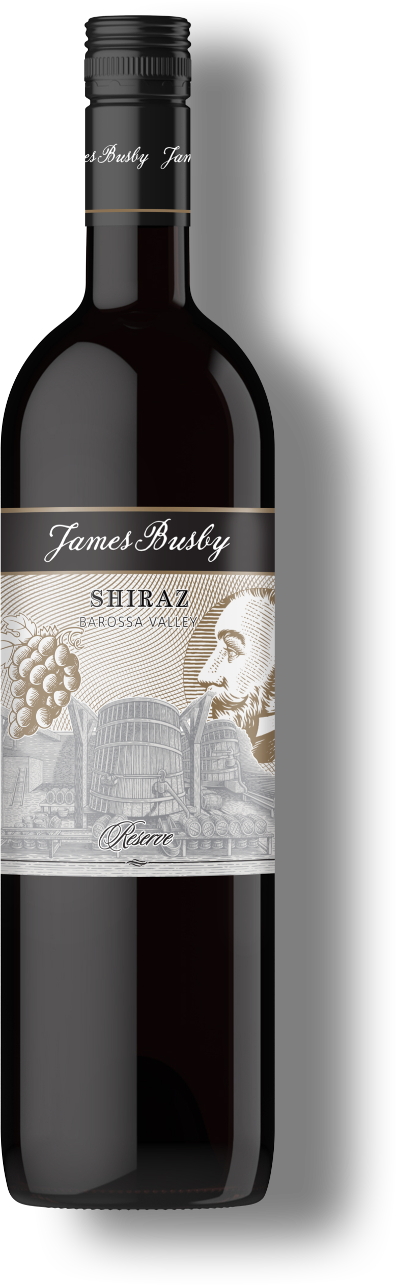 Chapter 2 - Shiraz wine bottle